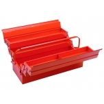 Cantilever style metallic tool box 530x205x200mm