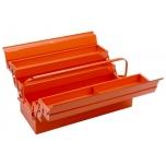 Cantilever style metallic tool box 530x205x200mm