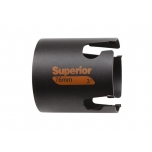 Multi construction holesaw Superior 60mm with carbide tips, depth 71mm
