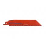 Reciprocating sawblades Sandflex bimetal 100mm*0,89mm ST 18TPI 5 pcs for wood and metal 3-10mm