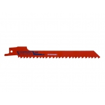 Reciprocating sawblades Sandflex bimetal 150mm*1,27mm ST 6TPI 5 pcs for wood and metal 20-50mm