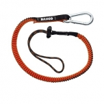 Lanyard with carabiner and fixed loop 80-120cm max 3kg
