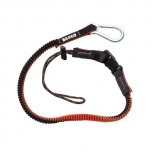 Lanyard with carabiner and fixed loop 65-120cm max 1kg