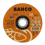 Abrazyvinis nerūdijančio plieno pjovimo diskas Bahco A60S INOX T41 230x1.9x22.23mm