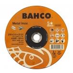Abrazyvinis metalo ir nerūdijančio plieno pjovimo diskas Bahco A30R INOX+Fe T41 230x2.5x22.23mm
