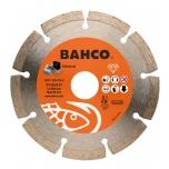 Deimantinis diskas betonui, segmentinis, Bahco 125x2.0x22.23mm