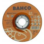 Abrazyvinis metalo ir nerūdijančio plieno šlifavimo diskas Bahco A30S INOX+Fe T42 125x6,4x22.23mm
