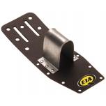 Narrow holster for breaking bars (1000,1002) with steel holder