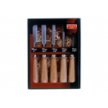 Chisel set with wooden handle 5 pcs 6,10,12,18,25mm