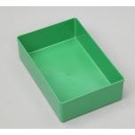 Plastikinė dėžutė Allit, be dangčio, 108x162x45mm, žalia