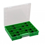 Assortment box EuroPlus Basic 37/7-20, green