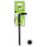 Ball head HEX L-key 4,0mm 28x102mm Irimo blister