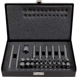 "Bit set 31pcs with 1/2"" - 10mm adaptor. HEX, XZN, TORX, Robertson Irimo"