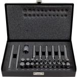 """Otsakute kmpl 31 osa.  1/2"""" -10mm adapter. HEX, XZN, TORX, Robertson Irimo"""