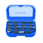 Bits set SL,PH,PZ,Torx,Hex 32 pcs Irimo
