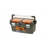 Plastikinė įrankių dėžė 600x305x295, 37l. Bahco