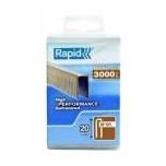 90/20mm 3M Kabės Rapid PP Box  Tinka Rapid Airtac PBS 151 3000 vnt