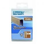 90/35mm 1.5M Kabės Rapid PP Box Tinka Rapid Airtac PBS 151 1500 vnt