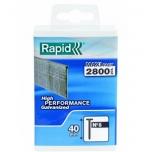 8/40mm RAPID 2.8M PP Box Brads Polypro Box