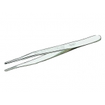 Jeweller`s tweezers with rounded tips 140mm, special hardened steel