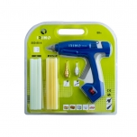 Cordless electronic glue gun