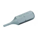 Otsakud standard 59S kuuskant HEX 5mm x 25mm 3tk jaepakend