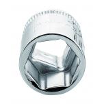 """Hexagon socket 7400SM 21mm 3/8"""""""