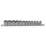 """3/8"""" socket set with 12 pce"""