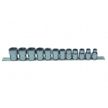 "3/8"" socket set with 12 pce"