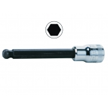 Ball hex socket driver 7409BH 8mm 3/8""