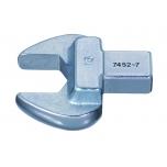 Open-end insert head 11mm 9x12mm end