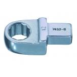 Ring insert wrench 19mm 9x12mm head