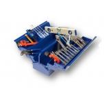 Plumbing tools set 31 pcs in metal toolbox Irimo