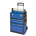 3 tool boxes tower on wheels Irimo