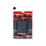 T-handle hexagon screwdrivers set 3/4/5/8/10mm 6 pcs