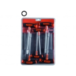 T-handle nut driver set 5/6/7/8/10/13mm 6 pcs