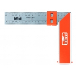 Carpenters square 250mm with sliding marker
