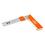 Carpenters square 400mm with sliding marker