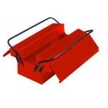 Metalinė įrankių dėžė, 5 skyriai 500x210x250