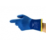 Safety chemical winter PVC gloves Ansell AlphaTec 23-202, size 9.