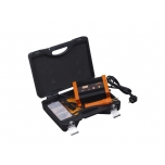 Plastic repair set with U-shaped staplers Ø 0,6mm and 0,8mm and V–shaped staplers Ø 0,6mm, 3 heating control positions,