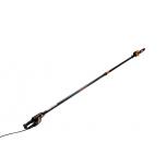 Telescopic cordless pole saw 1200W, 2.2 - 3m reach, 3.4kg