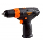 "Cordless drill with brushless motor 12V, 3/8""-10mm quick chuck, 2 speeds and 11 torque settings"