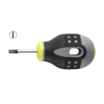 Screwdriver ERGO™ mini slotted  1.0x5.5x25mm straight