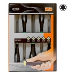Screwdriver set ERGO™ 5 pcs - T10/T15/T20/T25/T30