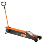 Long frame trolley jack 10T min 170mm max 565mm scope 1654mm