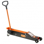 Long frame trolley jack 10T min 150mm max 570mm scope 1354mm