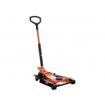 Multipurpose trolley jack min 100mm max 465mm, special platform saddles for use with motorbikes