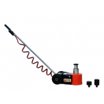 Air hydraulic jack 30/15 T max 224mm/30T max 292mm/15T with saddle adaptors 45mm and 75mm