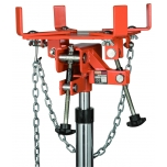 Adjustable universal swivel saddle for transmission jack max 1000kg